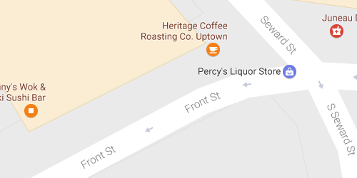 Heritage Coffee map