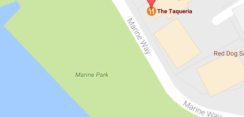 taqueria map