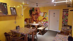 taqueria dining room