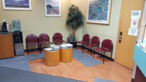 Juneau Urgent and Family Care lobby